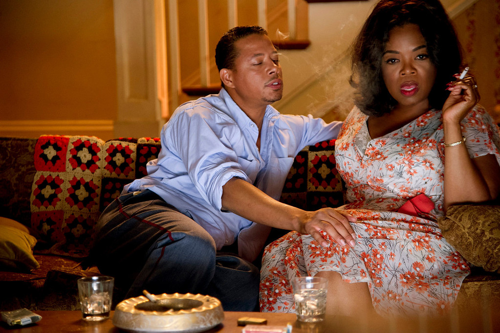 """. Terrance Howard and Oprah Winfrey in \""""Lee Daniel\'s The Butler.\"""" Provided by the Weinstein Company."""