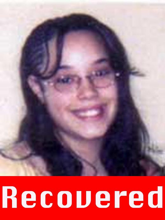 ". These photograph obtained on May 6, 2013 courtesy of the FBI show Georgina ""Gina\"" DeJesus, who went missing as teenager about a decade ago and was found alive May 6, 2013 in a residential area of Cleveland, Ohio. Three women who had been missing for years -- two of whom disappeared as teenagers -- were found alive in a house in Cleveland, police in the US state of Ohio said Monday. \""All three women, Amanda Berry, Gina DeJesus and Michele Knight, seem to be in good health,\"" Cleveland police said in a statement. AFP PHOTO /  FBI\"""