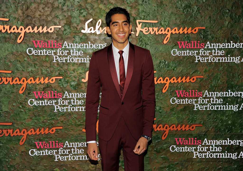 . Actor Dev Patel arrives at the Wallis Annenberg Center for the Performing Arts Inaugural Gala on Thursday, Oct. 17, 2013, in Beverly Hills, Calif. (Photo by Chris Pizzello/Invision/AP)