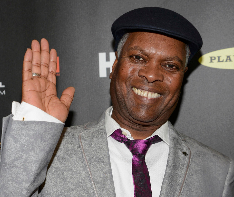. Musician Booker T. Jones arrives at the 2013 Rock and Roll Hall of Fame induction ceremony in Los Angeles April 18, 2013.   REUTERS/Phil McCarten (UNITED STATES  - Tags: ENTERTAINMENT)