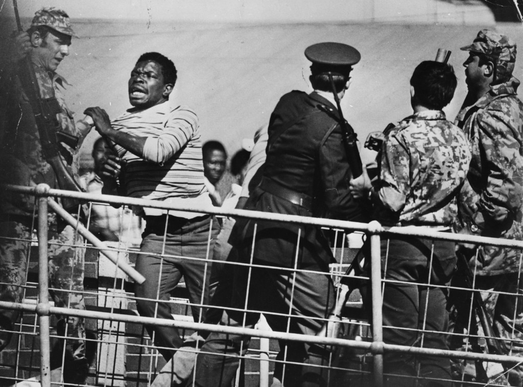 . Over 100 people were killed and more than 1000 injured in South Africa following anti-apartheid protests in Soweto, near Johannesburgh, June 21, 1976.    (Photo by Keystone/Getty Images)