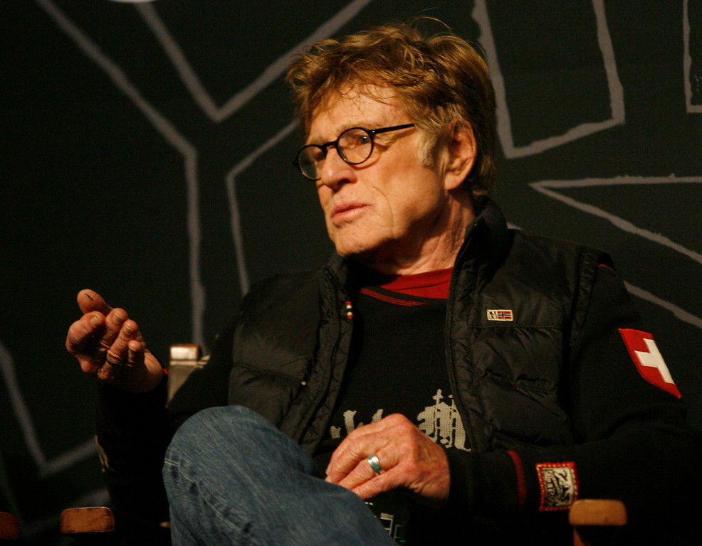 . Robert Redford talks about this years Sundance Film Festival at the opening press conference of the Sundance Film Festival at the Egyptian theater in Park City,  Thursday, January 17, 2013. Rick Egan  | The Salt Lake Tribune