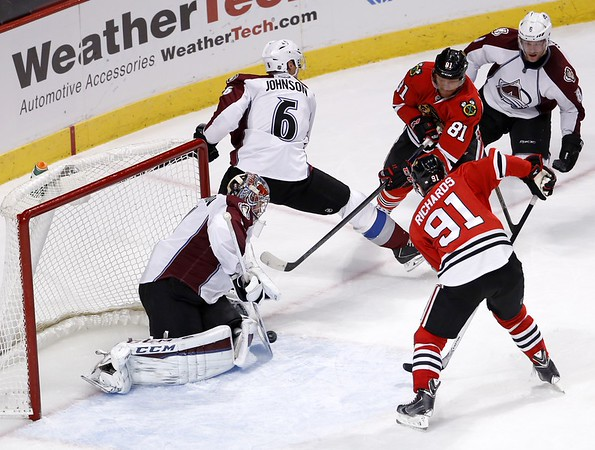 PHOTOS: Colorado Avalanche 2, Chicago Blackhawks 0,  Jan. 6, 2015