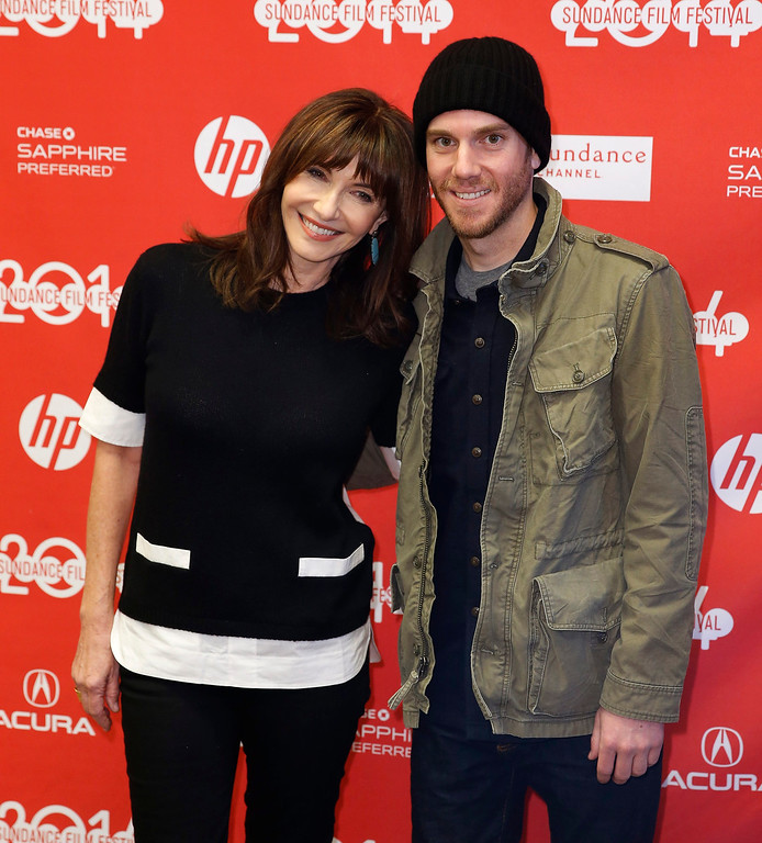 . US actress Mary Steenburgen, (L) and her son director of \'The One I Love\'  Charlie McDowell, (R) arrives for the premiere of the \'Song One\' during the 2014 Sundance Film Festival in Park City, Utah, USA, 20 January 2014. The festival runs from 16 to 26 January.  EPA/George Frey