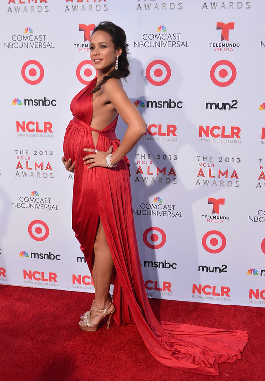 . PASADENA, CA - SEPTEMBER 27:  Actress Dania Ramirez arrives at the 2013 NCLR ALMA Awards at Pasadena Civic Auditorium on September 27, 2013 in Pasadena, California.  (Photo by Alberto E. Rodriguez/Getty Images for NCLR)