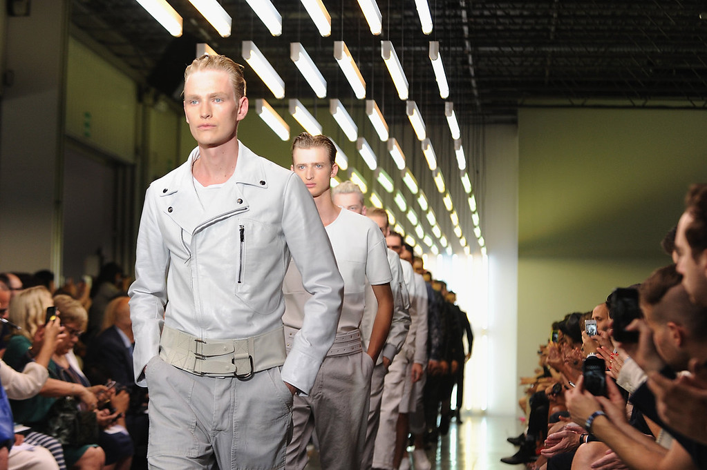 . Models walk the runway at the Diesel Black Gold show during Milan Menswear Fashion Week Spring Summer 2014 on June 24, 2013 in Milan, Italy.  (Photo by Pier Marco Tacca/Getty Images)