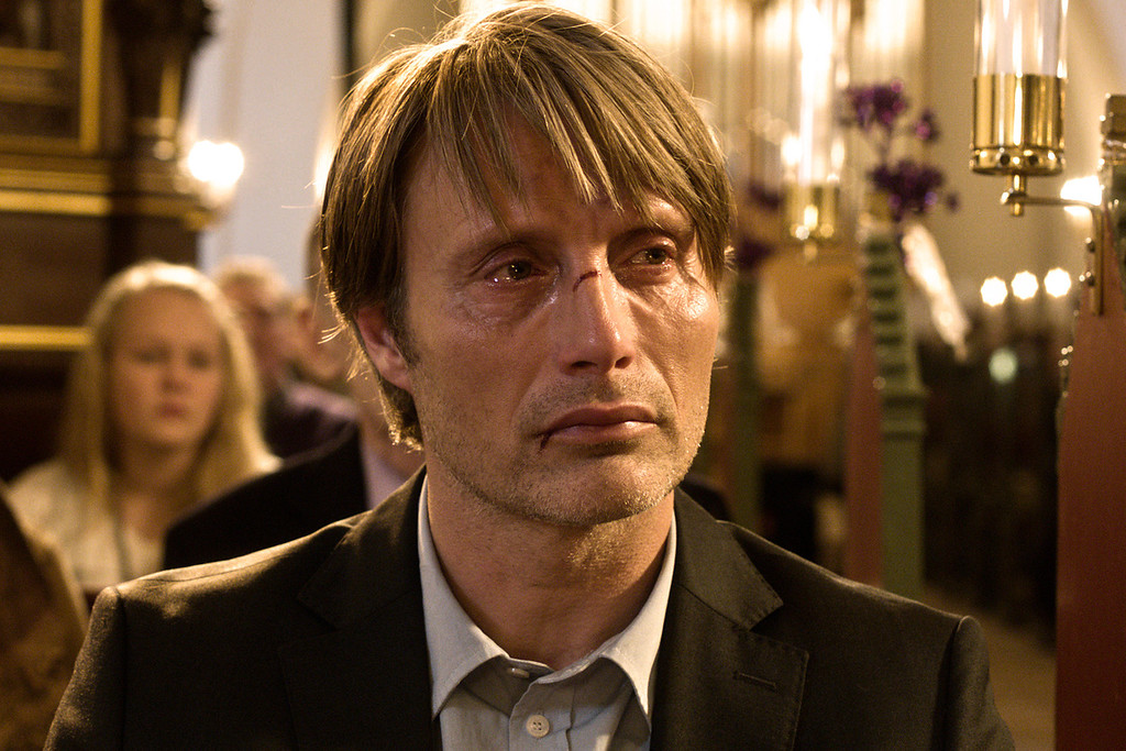 ". 2014 Academy Award Nominee for Best Foreign Language Film: Danish film, ""The Hunt.\"" (AP Photo/Magnolia Pictures)"
