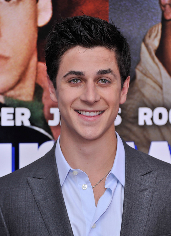 ". Actor David Henrie attends the ""Grown Ups 2\"" New York Premiere at AMC Lincoln Square Theater on July 10, 2013 in New York City.  (Photo by Stephen Lovekin/Getty Images)"