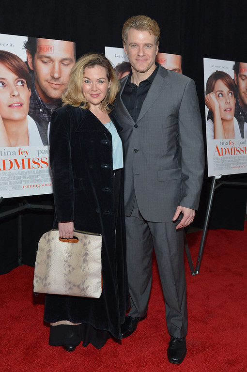 """. Billie Wildrick and Ed Watts attend the \""""Admission\"""" New York Premiere at AMC Loews Lincoln Square 13 on March 5, 2013 in New York City.  (Photo by Mike Coppola/Getty Images)"""