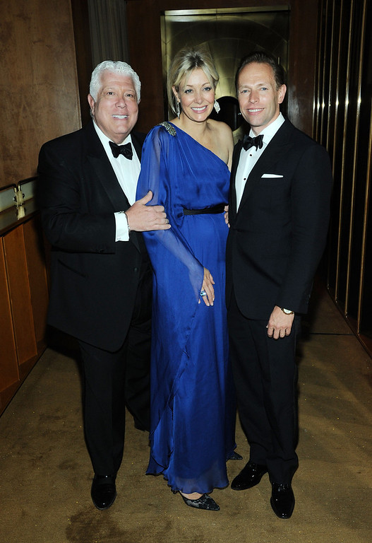 . Dennis Basso, Nadja Swarovski and Chad Conway attend the 2013 CFDA Fashion Awards Official After Party Hosted By Swarovski on June 3, 2013 in New York, United States.  (Photo by Ilya S. Savenok/Getty Images)