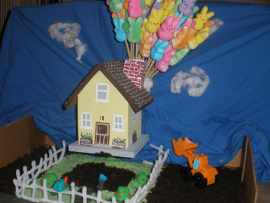 ". Peeps Production of Disney\'s ""Up\""