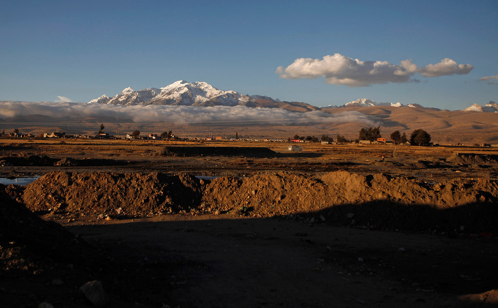 . A view of Frasquia village and surrounding area where Aymara native Carmelo Flores Laura lives in Bolivia, Tuesday, Aug. 13, 2013. If Bolivia�s public records are correct, Flores is the oldest living person ever documented. They say he turned 123 a month ago.  (AP Photo/Juan Karita)