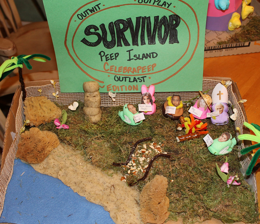 . Survivor: Peep Island is back with a Celebrity Edition!  