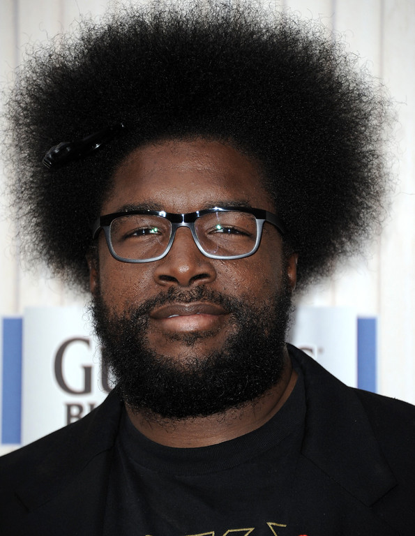 . Questlove arrives at Spike TV\'s Guys Choice Awards at Sony Pictures Studios on Saturday, June 8, 2013, in Culver City, Calif. (Photo by Richard Shotwell/Invision/AP)