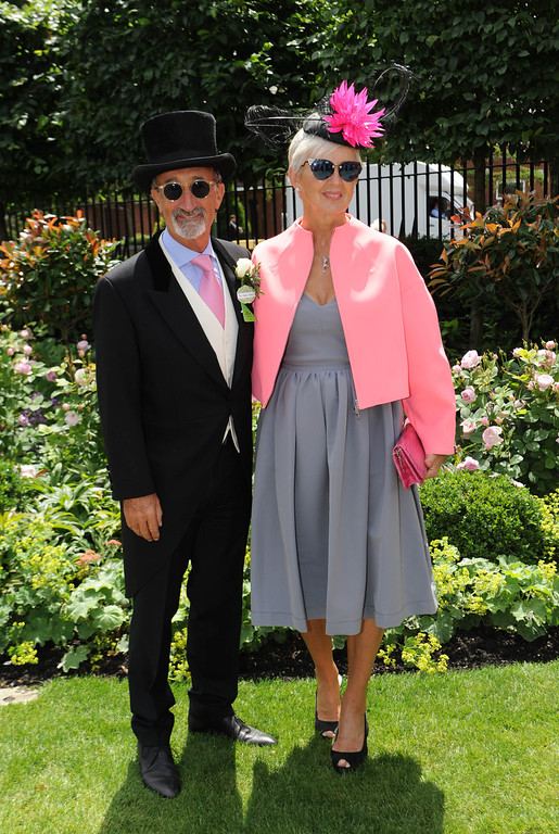 . Eddie Jordan and Marie Jordan attend Day 2 of Royal Ascot at Ascot Racecourse on June 18, 2014 in Ascot, England.  (Photo by Stuart C. Wilson/Getty Images)