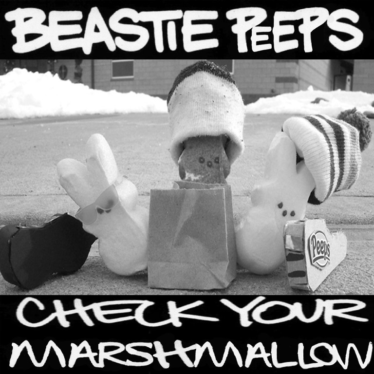 . Entry for the Children\'s Peeps contest, I am 6. Me and my Dad love the Beastie Boys! Tabitha McCauley