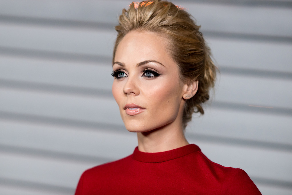 . Laura Vandervoort arrives at the MAXIM Hot 100 Party on Tuesday, June 10, 2014 in West Hollywood, Calif. (Photo by Richard Shotwell/Invision/AP)