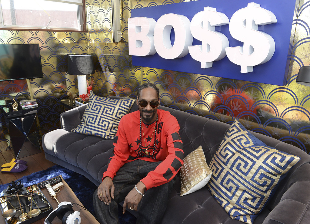 . Snoop Dogg attends Airbnb Snoop Dogg Wake And Bake Event At SXSW on March 11, 2014 in Austin, Texas.  (Photo by Vivien Killilea/Getty Images for Airbnb)