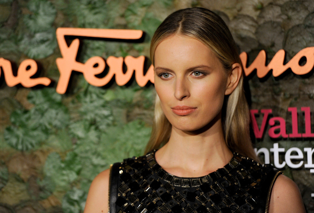 . Model Karolina Kurkova arrives at the Wallis Annenberg Center for the Performing Arts Inaugural Gala on Thursday, Oct. 17, 2013, in Beverly Hills, Calif. (Photo by Chris Pizzello/Invision/AP)