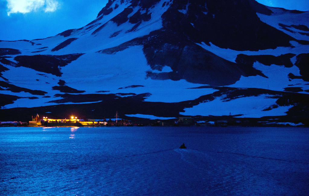 . A Brazilian Navy boat takes supplies to the Comandante Ferraz Antarctic Station seen from the Brazilian Navy\'s Oceanographic Ship Ary Rongel on March 7, 2014.     AFP PHOTO /VANDERLEI ALMEIDA/AFP/Getty Images