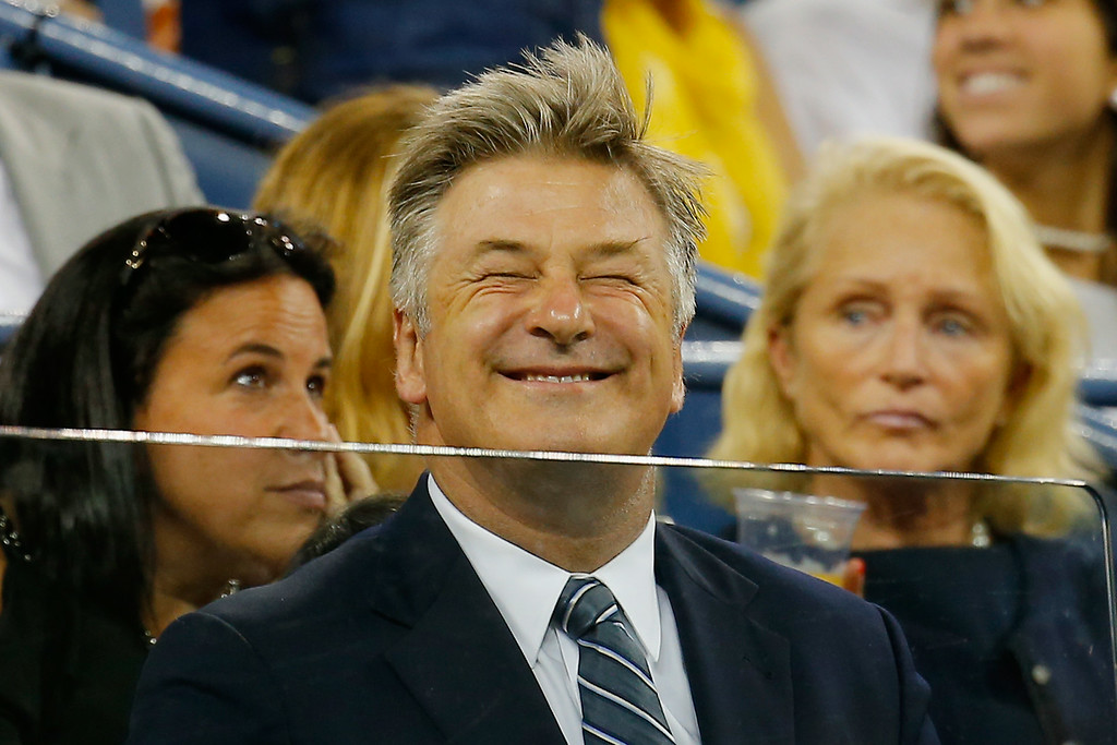 . NEW YORK, NY - AUGUST 25:  Actor Alec Baldwin attends on Day One of the 2014 US Open at the USTA Billie Jean King National Tennis Center on August 25, 2014 in the Flushing neighborhood of the Queens borough of New York City.  (Photo by Chris Trotman/Getty Images for USTA)