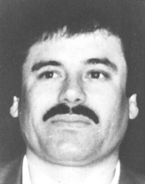 """. This undated file image released by Mexico\'s Attorney General\'s Office on May 31, 1993, shows drug lord Joaquin \""""El Chapo\"""" Guzman at an undisclosed location. A senior U.S. law enforcement official said Saturday, Feb. 22, 2014 that Guzman, the head of Mexico�s Sinaloa Cartel, was captured alive overnight in the beach resort town of Mazatlan. Guzman faces multiple federal drug trafficking indictments in the U.S. and is on the Drug Enforcement Administration�s most-wanted list. (AP Photo/Procuraduria General de la Republica, File)"""