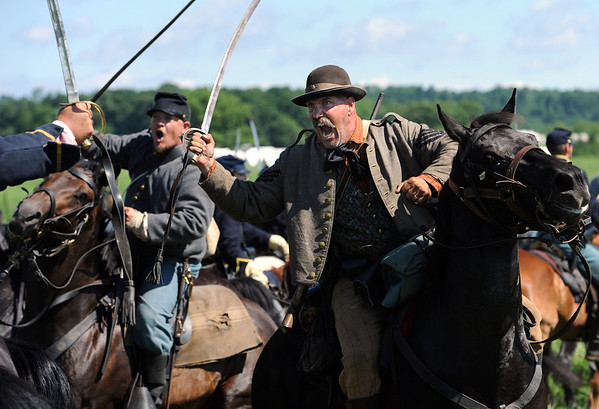 Photos: Gettysburg 150th anniversary re-enactment begins