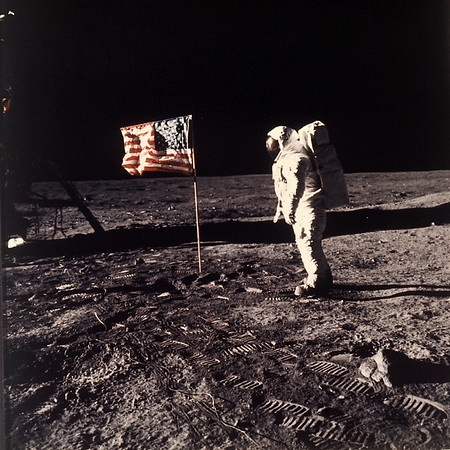 PHOTOS: Apollo 11 mission and the first human moonwalk, 45 years later