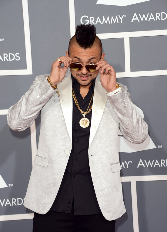 . Singer Sean Paul arrives at the 55th Annual GRAMMY Awards at Staples Center on February 10, 2013 in Los Angeles, California.  (Photo by Jason Merritt/Getty Images)