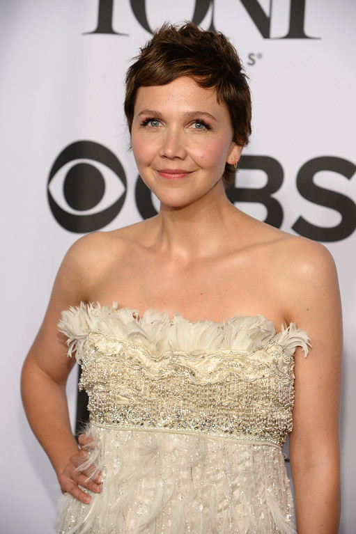 . Actress Maggie Gyllenhaal attends the 68th Annual Tony Awards at Radio City Music Hall on June 8, 2014 in New York City.  (Photo by Dimitrios Kambouris/Getty Images for Tony Awards Productions)