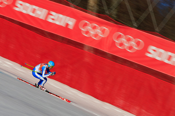 PHOTOS: Men's Super Combined Alpine Skiing at 2014 Sochi Winter Olympics