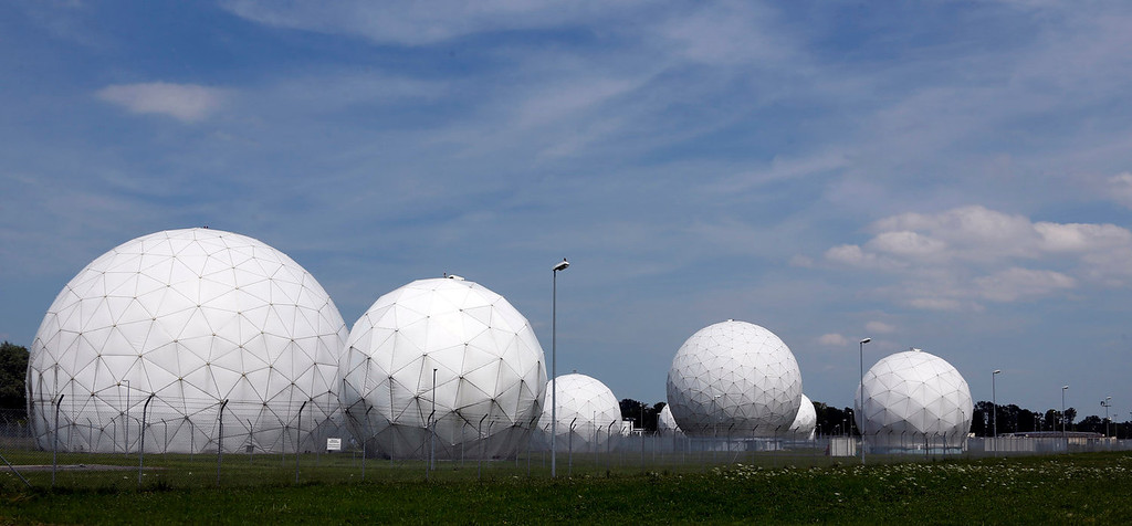 ". The former monitoring base of the U.S. intelligence organization National Security Agency (NSA) in Bad Aibling, near Munich, southern Germany, that was closed in 2004.  The German government has canceled a Cold War-era surveillance pact with the United States and Britain following concerns about their alleged electronic eavesdropping in Germany.  Foreign Minister Guido Westerwelle said Friday, Aug, 2, 2013 that ending the agreement was ""a necessary and proper consequence of the recent debate about protecting personal privacy.\""  A government official says the move is largely symbolic and has no practical consequences for intelligence cooperation. (AP Photo/Matthias Schrader)"