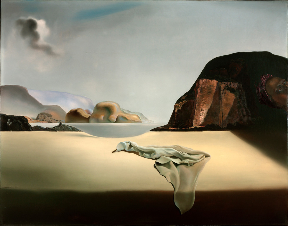 . Salvador Dali, The Transparent Simulacrum of the Feigned, property of the Albright-Knox Art Gallery, Buffalo, NY.