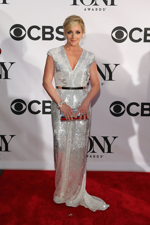 . Actress Jane Krakowski attends the 67th Annual Tony Awards at Radio City Music Hall on June 9, 2013 in New York City.  (Photo by Neilson Barnard/Getty Images)