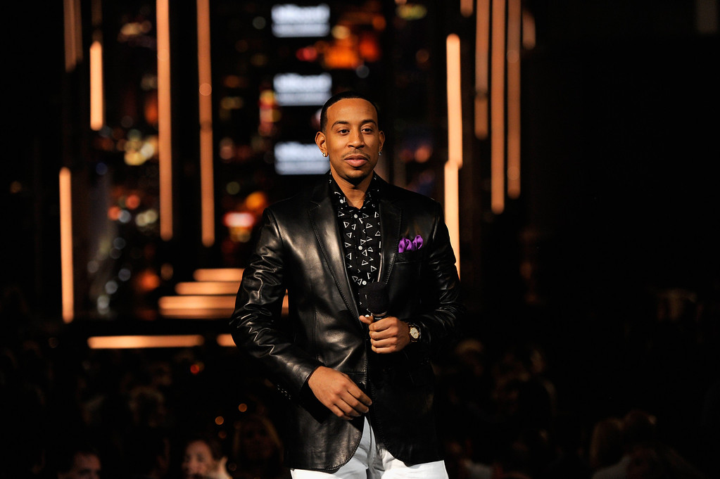 . Host Ludacris speaks onstage during the 2014 Billboard Music Awards at the MGM Grand Garden Arena on May 18, 2014 in Las Vegas, Nevada.  (Photo by Ethan Miller/Getty Images)
