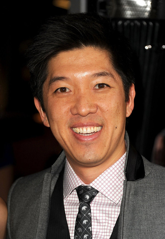 """. Producer Dan Lin arrives at Warner Bros. Pictures\' \""""Gangster Squad\"""" premiere at Grauman\'s Chinese Theatre on January 7, 2013 in Hollywood, California.  (Photo by Kevin Winter/Getty Images)"""