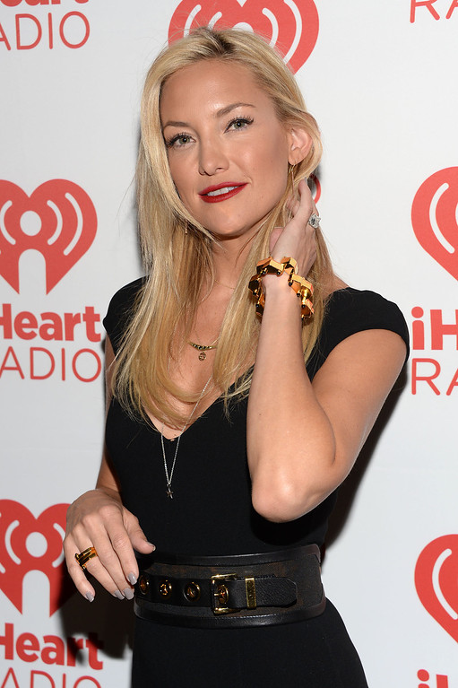 . Actress Kate Hudson attends the iHeartRadio Music Festival at the MGM Grand Garden Arena on September 20, 2013 in Las Vegas, Nevada.  (Photo by Jason Kempin/Getty Images for Clear Channel)