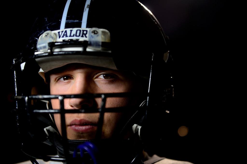 . Valor Christian starting right guard Sam Kozan.  (Photo by AAron Ontiveroz/The Denver Post)