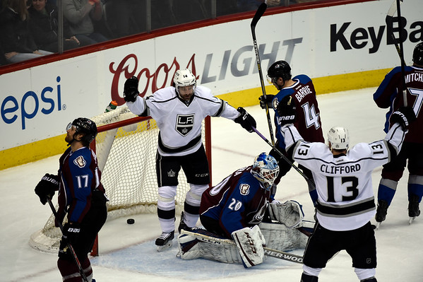 PHOTOS: Colorado Avalanche vs. Los Angeles Kings, March 10, 2015