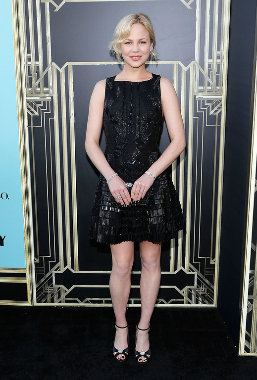 ". Actress Adelaide Clemens attends the ""The Great Gatsby\"" world premiere at Avery Fisher Hall at Lincoln Center for the Performing Arts on May 1, 2013 in New York City.  (Photo by Jemal Countess/Getty Images)"