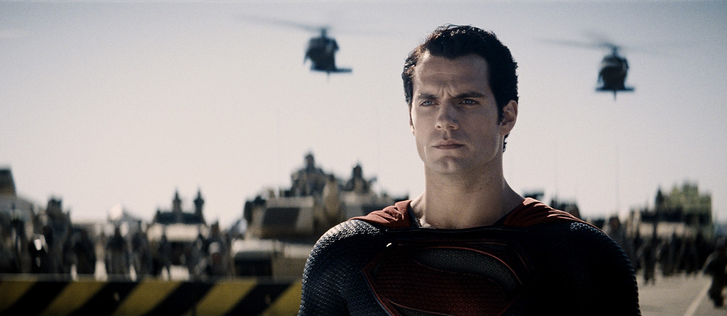 ". HENRY CAVILL as Superman in Warner Bros. Pictures and Legendary Pictures� action adventure ""MAN OF STEEL,\"" a Warner Bros. Pictures release."