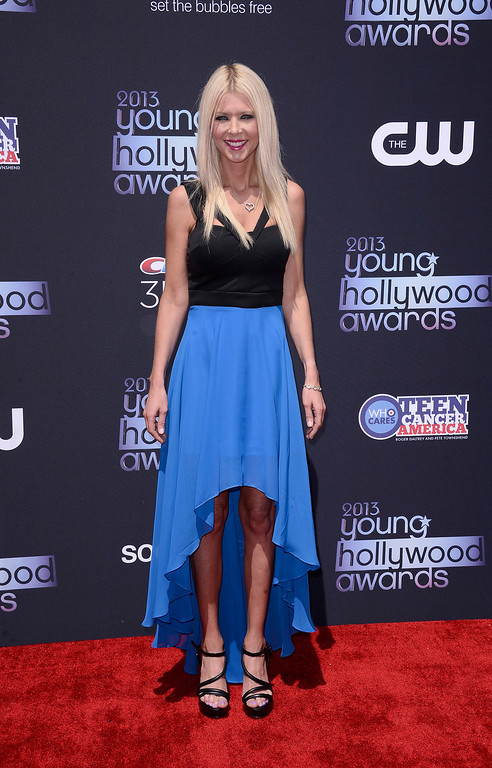 . Actress Tara Reid arrives at the 2013 Young Hollywood Awards at The Broad Stage on Thursday, August 1, 2013, in Santa Monica, Calif. (Photo by Dan Steinberg/Invision/AP)