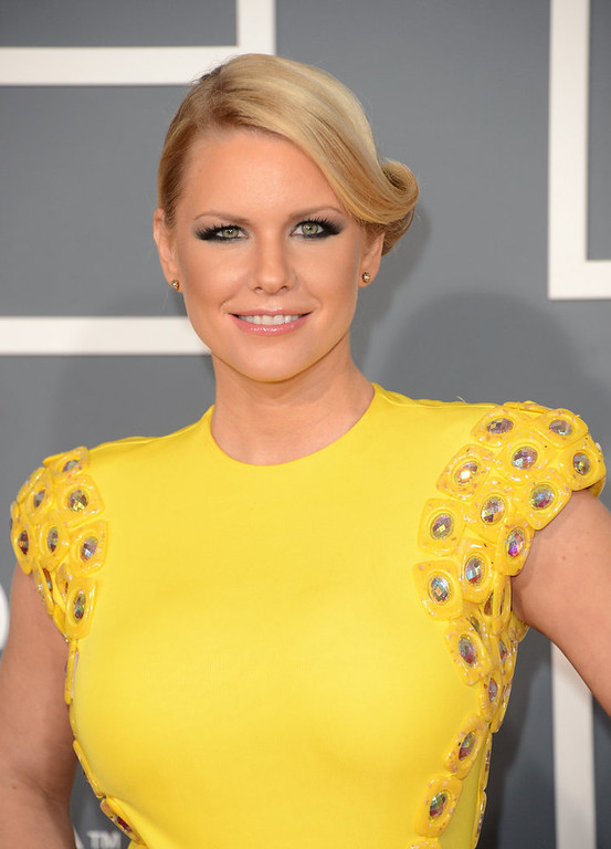 . TV Personality Carrie Keagan arrives at the 55th Annual GRAMMY Awards at Staples Center on February 10, 2013 in Los Angeles, California.  (Photo by Jason Merritt/Getty Images)