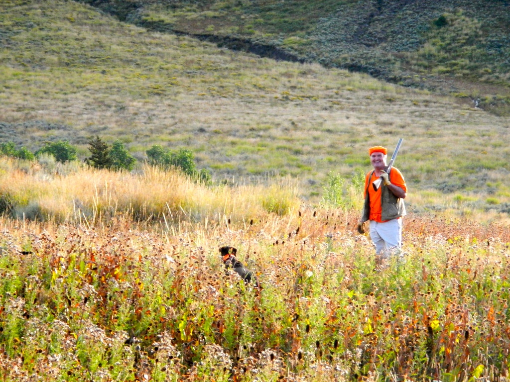 """. Kent Lemon began another grouse hunting season with his typical optimism before working long and hard for three birds. \""""There are birds all over that hill,\"""" he said. \""""Thousands of them.\"""" Scott Willoughby, The Denver Post"""