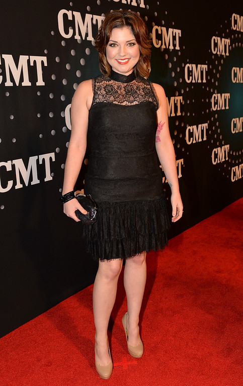 . Samantha Stephens attends CMT Artists Of The Year 2013 at Music City Center on December 3, 2013 in Nashville, Tennessee.  (Photo by Rick Diamond/Getty Images for CMT)