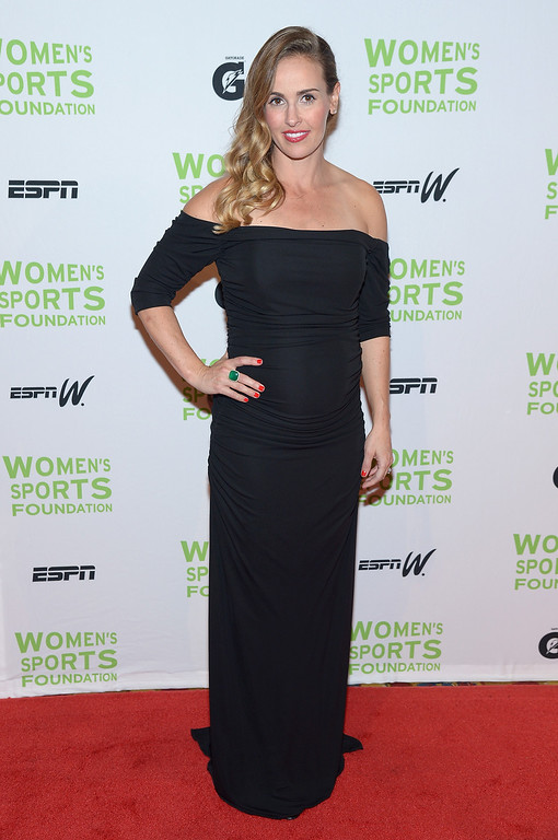 . NEW YORK, NY - OCTOBER 16:  Olympic soccer player Heather Mitts attends the 34th annual Salute to Women In Sports Awards at Cipriani, Wall Street on October 16, 2013 in New York City.  (Photo by Michael Loccisano/Getty Images for the Women\'s Sports Foundation)