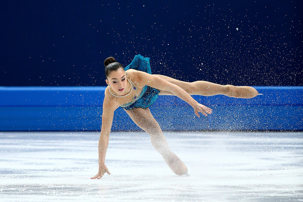 . Gabrielle Daleman of Canada competes in the Figure Skating Ladies\' Free Skating on day 13 of the Sochi 2014 Winter Olympics at Iceberg Skating Palace on February 20, 2014 in Sochi, Russia.  (Photo by Ryan Pierse/Getty Images)