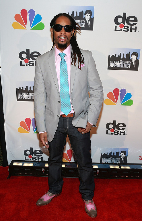 ". Lil Jon attends ""All Star Celebrity Apprentice\"" Finale at Cipriani 42nd Street on May 19, 2013 in New York City.  (Photo by Robin Marchant/Getty Images)"